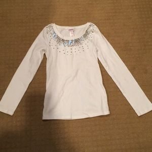 Girls long sleeve tee from Justice